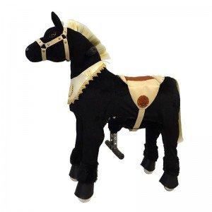 قیمت اسب رکابدار شبدیز موطلائی مدل 7929