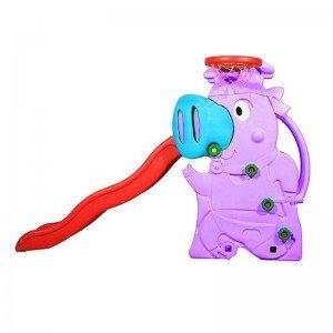 سرسره خوک کودک رنگ بنفش مدل 5014