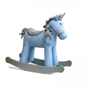 خرید راکر تک شاخ آبی مونبیم little bird مدل 3077