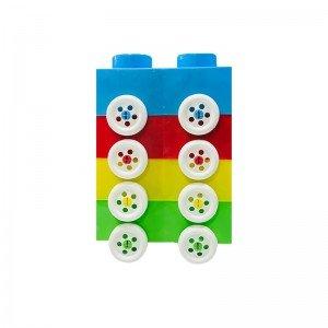 بلوک خانه سازی کودک چرخ دار مدل 1311