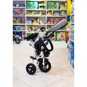 سه چرخه تاشو کودک با سایبان کودک