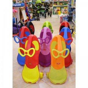 قیمت سه چرخه پلاسماکار چرخ ژله ای نارنجی سبز مدل 8097