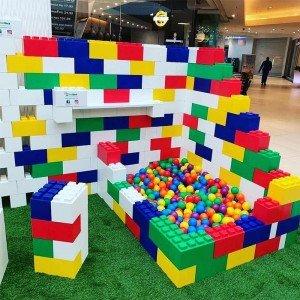 اسباب بازی سوپر بلوک های 20 عددی ساخت و ساز  everblock