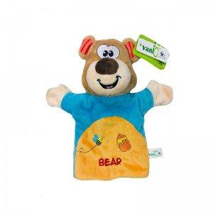 پاپت و عروسک نمایشی خرس  مدل 100132