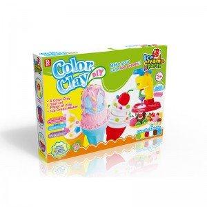ست خمیر بازی بستنی سازی کد 728A