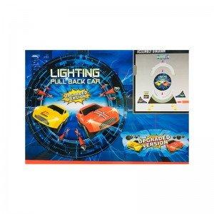 قیمت ریسینگ سرعتی چرخشی چراغدار مدل 6688232