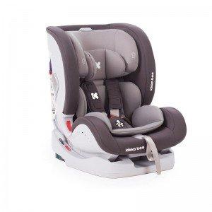 صندلی ماشین KIKKA BOO مدل 4IN1 رنگ طوسی
