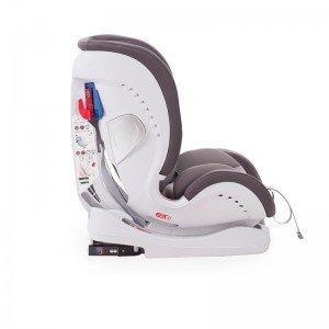 خصوصیات صندلی ماشین KIKKA BOO مدل 4IN1 رنگ طوسی