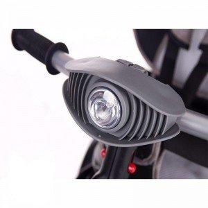 قیمت سه چرخه  با سایبان Kikka Boo رنگ بژ ملانژ مدل Niki 3in1