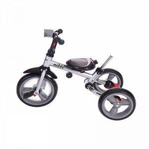 ویژگی های سه چرخه  با سایبان Kikka Boo رنگ بژ ملانژ مدل Niki 3in1