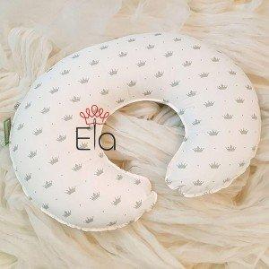 بالش شیردهی سفید طرح پرنس elaart مدل 8040