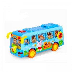 ماشین اتوبوس مدرسه HUILE TOYS مدل 908