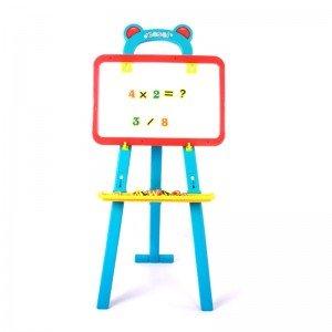 خرید تخته  نقاشی دوطرفه آبی قرمز مدل 62827