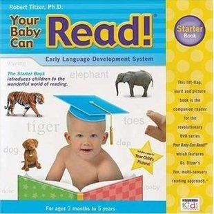 سي دي اموزش زبان(سه ماه تا3سال)Your baby can read