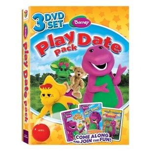 مجموعه بارنی دایناسور بنفش 2011 Barney Play Date Pack همراه سیرک بارنی