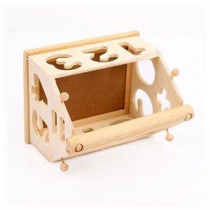 خرید جورچین کلبه چوبی