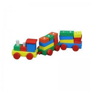 قطار چوبی کودک