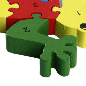 پازل چوبی آموزشی کودک