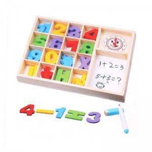 بازی چوبی آموزش ریاضی مدل 77351