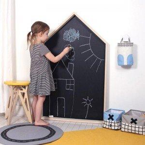 تخته سیاه دیواری  چوبی کودک مدل 1301