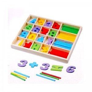 بازی چوبی آموزش ریاضی طرح A مدل 0821