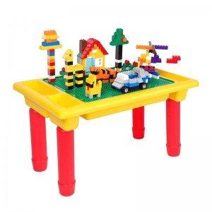 میز بازی و لگو 500 تکه مدل 0088