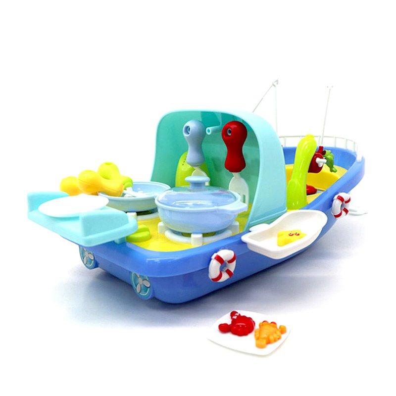 ست ماهیگیری کشتی