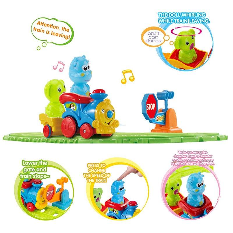 قطار اسباب بازی موزیکال کودک