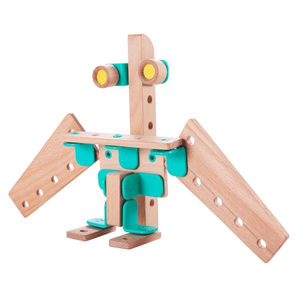 هواپیما اسباب بازی چوبی