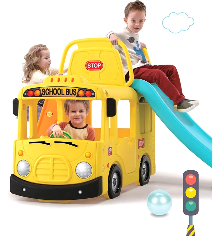 سرسره کودک طرح اتوبوس