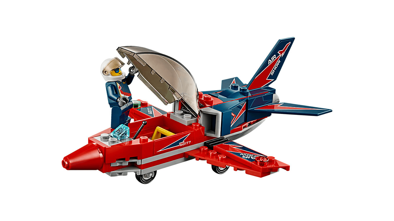 لگو جت قرمز مدل Lego airshow jet 60177