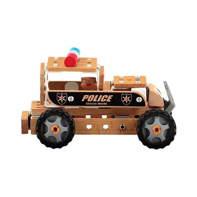 اسباب بازی ماشین چوبی