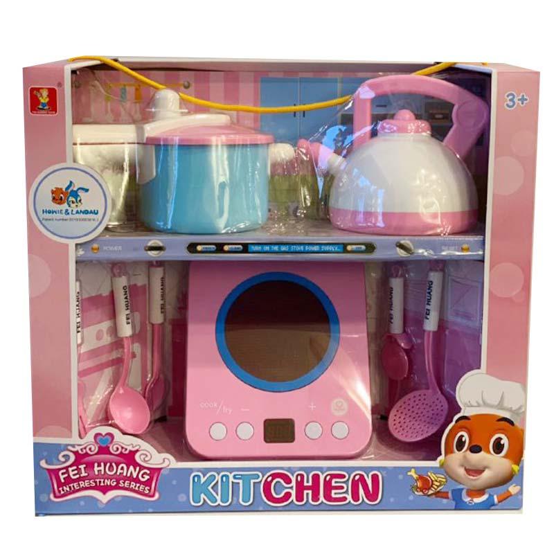 ست اسباب بازی وسایل آشپزخانه
