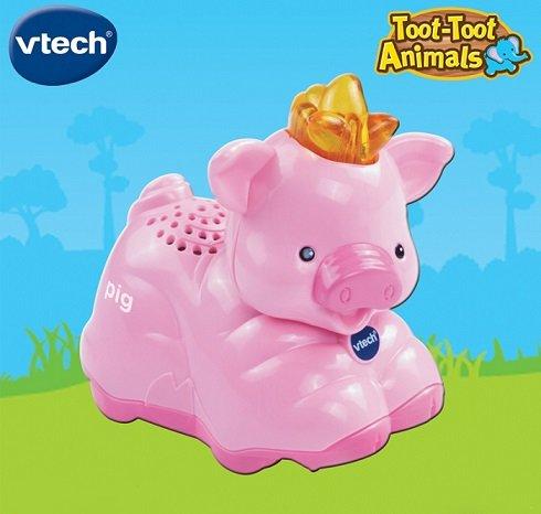 خوک موزیکال animal pig vtech 164903