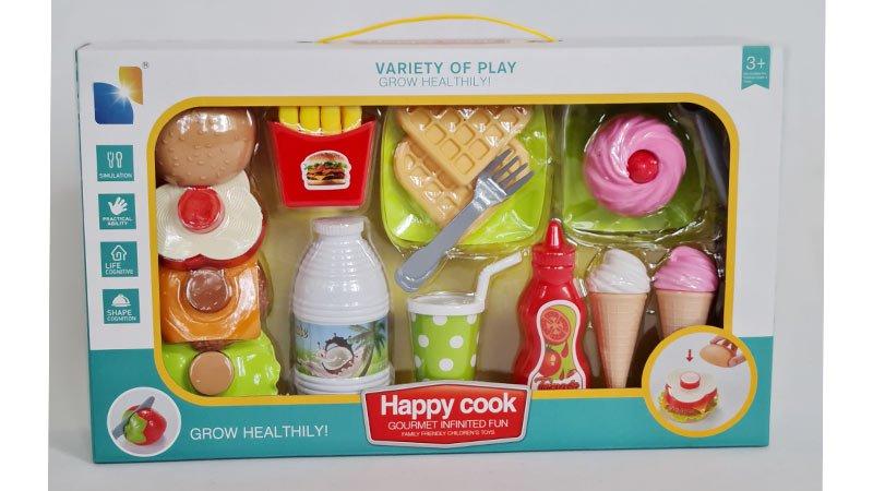 خرید اسباب بازی فست فود