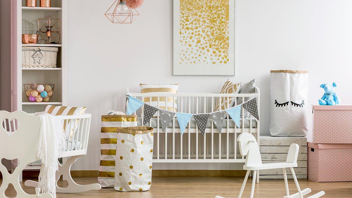 باکس اسباب بازی برای چیدمان سیسمونی نوزاد