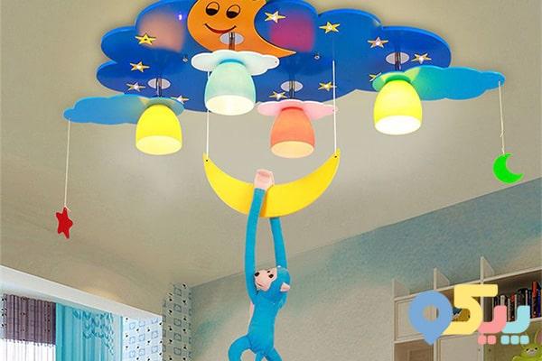 تزیین اتاق کودک با آویزهای جذاب