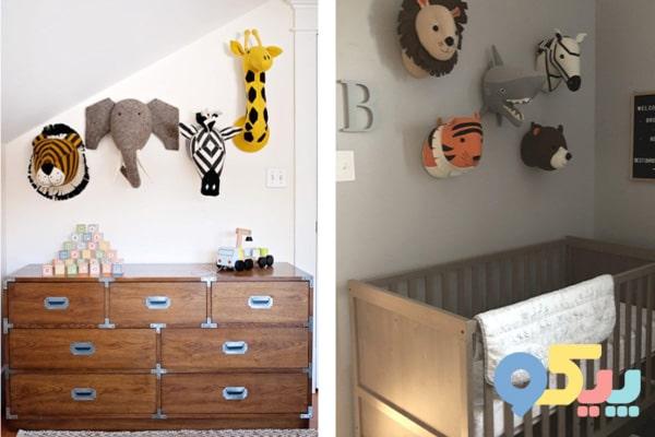 تزیین اتاق کودک با وسایل ساده