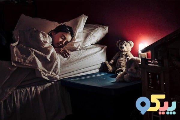 کاهش ترس کودک از تاریکی