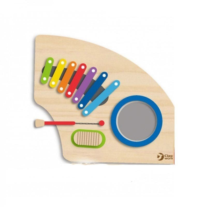 دیوارکوب چوبی موسیقی هوش و سرگرمی  شیر