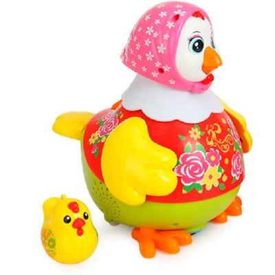 مرغ قرمز موزیکال huile toys 6102