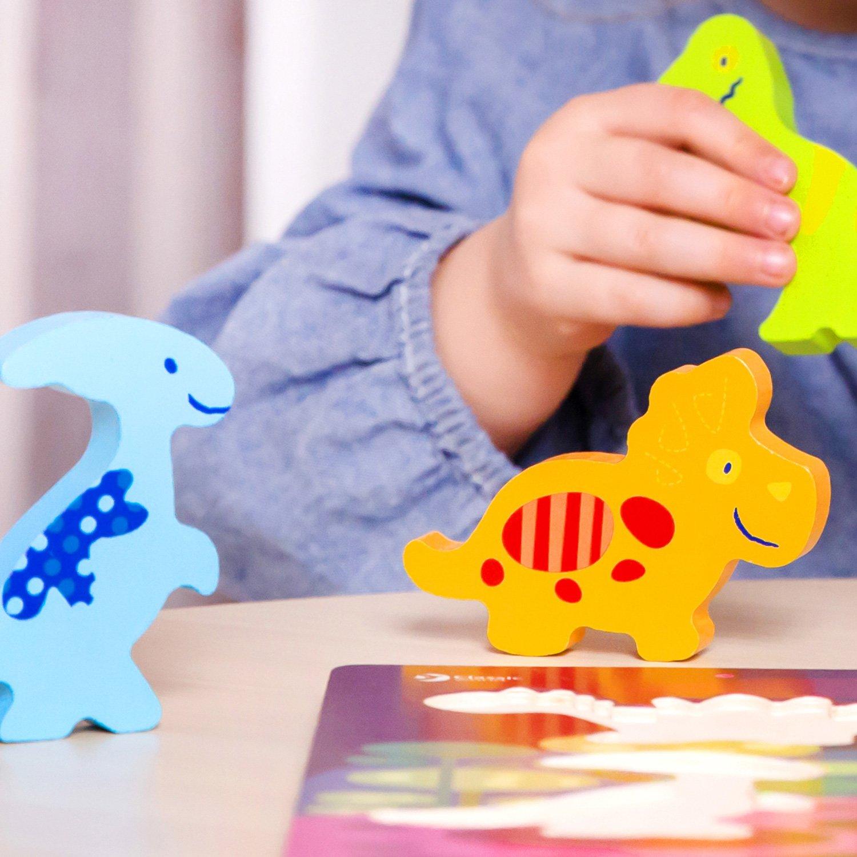 پازل سه بعدی دایناسور چوبی Classic World  Dinosaur 3D Puzzle 3552