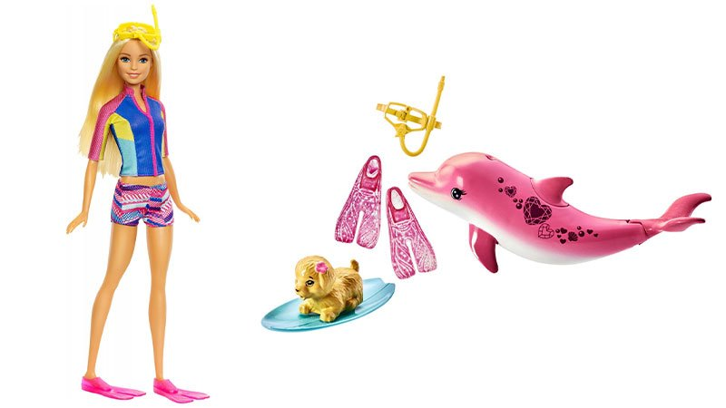 عروسک باربی و جادوی دلفین