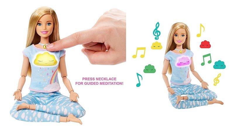 خرید عروسک باربی یوگا