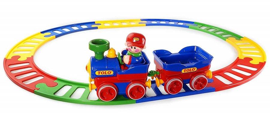 قطار ساده كودک tolo مدل 89905