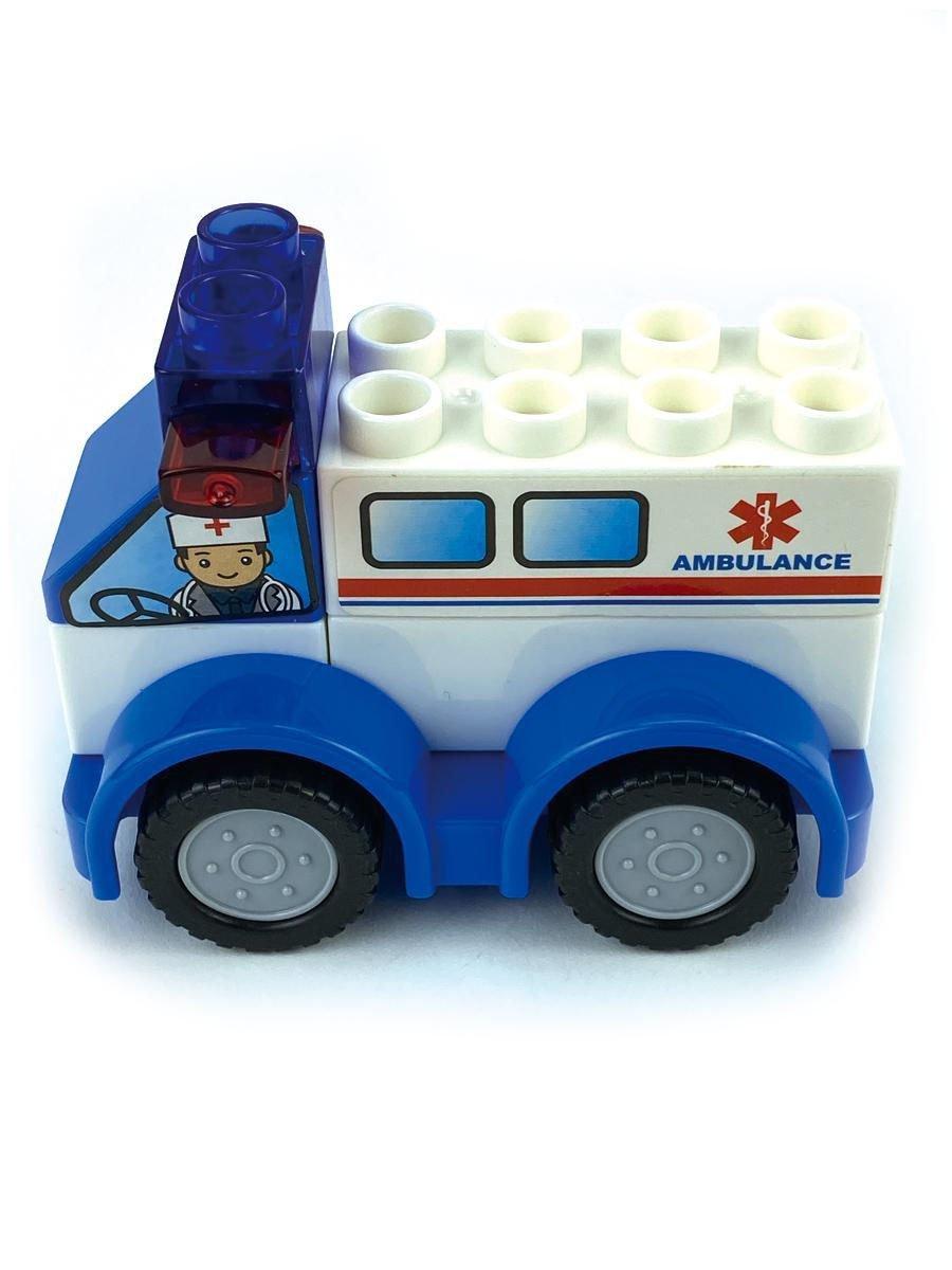 ماشین لگو آمبولانس