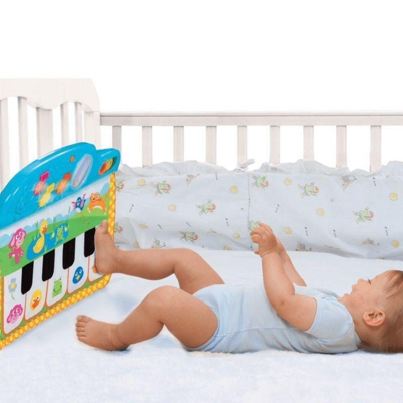 آویز تخت کودک مدل پیانو اسباب بازی