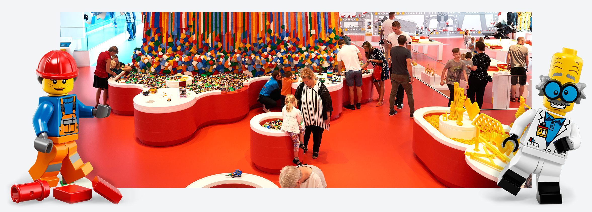 Lego house red zone