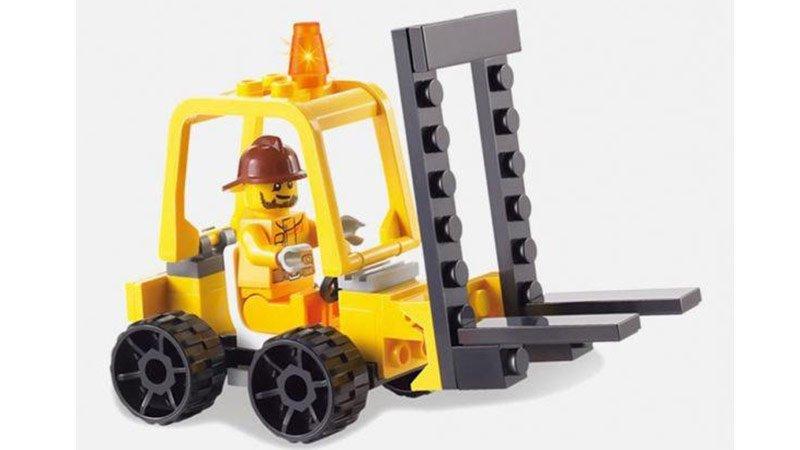 خرید لگو ماشین راهسازی