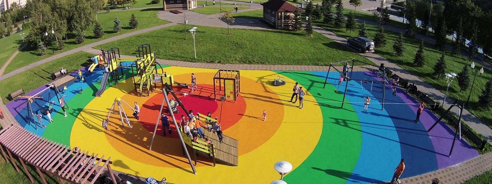 طراحی پارک بازی